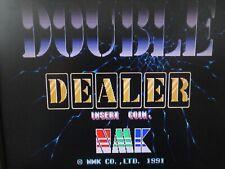Double Dealer ORIGINAL JAMMA ARCADE PCB By NMK