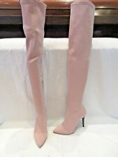 BNWD TOPSHOP STRETCH OVER THE KNEE PULL ON BOOTS UK 4 EU 37 US 6.5 (1535)