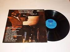 RAY CHARLES - The World Of Ray Charles Volume 2 - 1975 UK 12-track vinyl LP