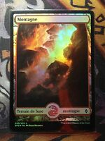 Battle for Zendikar Montagne Textless n°265  FOIL   VF  -  MTG Magic (NM)