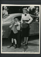EVELYN KEYES WATCHES LITTLE PERSON BILLY CURTIS TEACH JIMMY HUNT BOXING - DBLWT