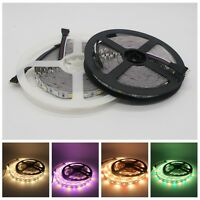 5M SMD 5050 300Led RGBW RGBWW LED Strip Light DC12V Flexible Lamp Non-Waterproof