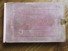 1863 Justin Lallier Stamp Album a Piece of Philatelic History used