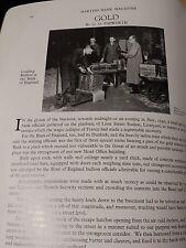 Liverpool WW2 Gold Bullion Martins Bank 6 magazines comme un lot