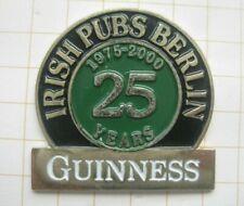 GUINNESS IRISH PUBS BERLIN  / IRLAND / IRELAND  ..... Bier-Pin (200f)