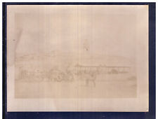 Fotografia Foto Libia Zuara 1913 Camion Esercito Campo Base  W508