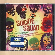 Lil Wayne , Wiz Khalifa & Imagine Dragons Sucker For Pain Suicide Squad CD Solo