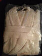 Christy Ribbed S/M Egyptian Cotton Bathrobe