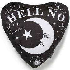 Moondaze Mond Schädel Sterne Killstar Gothic Okkult Samt Kissen