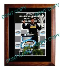 MARCOS AMBROSE 2011 NASCAR SERIES WIN LARGE A3 PHOTO 1