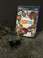 Eye Toy Camera + Game - Sony PS2 / Playstation 2 - Tested
