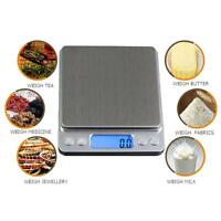 Mini Electronic Digital Scales 1000g/0.1g Portable Pocket Case LCD Kitchen Scale