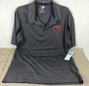 Mens  NFL Team Apparel Chicago Bears TX3COOL gray Shirt