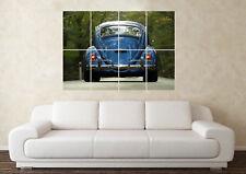 Large Volkswagen Beetle (3) Bug Camper R32 VR6 G60 Wall Poster Art Picture Print