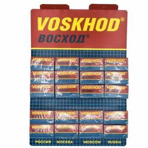 Voskhod | Double Edge Razor Blades | 100 Count | MELB STORE