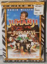 Jumanji (DVD, 2000, Collector's Edition) RARE ROBIN WILLIAMS KIRSTEN DUNST NEW