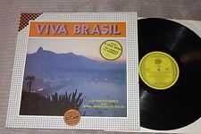 LOS MACHUCAMBOS w/ MARIA APARECIDA DE SOUZA : Viva Brasil - Rare LP 33RPM SCORE
