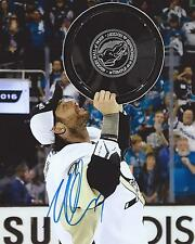 Matt Cullen Signed 8×10 Stanley Cup Photo Pittsburgh Penguins Autographed COA