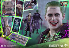 SIDESHOW HOT TOYS -DC COMICS SUICIDE SQUAD - THE JOKER - 1/6 FIGUR JARED LETO