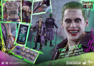 Sideshow Hot Toys - Dc Comics Suicide Squad - The Joker - 1/6 Figurine Jared