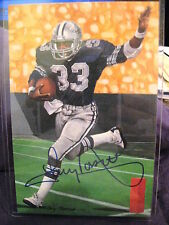 GOAL LINE ART SERIES 6 TONY DORSETT COWBOYS  HOF SIGNED SET BREAK #/5000