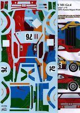 "Transkit 1/24 BMW M1 ""WARHOL"" 24h Le Mans 1979  Renaissance TK24/149"