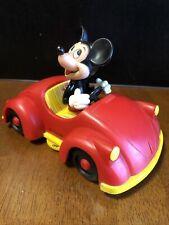 Vintage Mickey Mouse Car Radio Model 181 Vintage Am Volkwagen Bug Red Disney