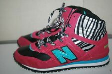New Balance 491 Lifestyle Mode de Vie Pink Youth Trainers, KB491PBY Size5Y US A1