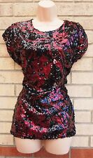 Sequin Blouses Floral Tops & Shirts for Women