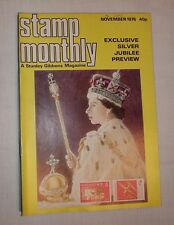 Stanley Gibbons Stamp Monthly November 1976 Jubilee philately mag Vol. 7 No. 6