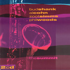 BUD SHANK/AL COHN/ZOOT SIMMS/PHIL WOOD - SUMMIT (1999 UK 2-CD JAZZ)