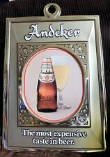Andeker Beer Bar Sign