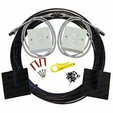 20m Cat6a External Socket to Socket Outlet Ethernet Extension Network Kit 10gig