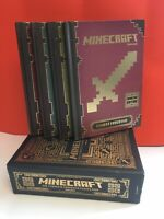 Minecraft: The Complete Handbook 4 Books - Ages 9-14 - Paperback - Mojang AB