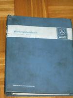 Wartungshandbuch Mercedes  R 107- W 124 - W 126- W 140 - R 129 ab 1981 - Band 2