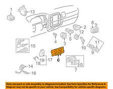 TOYOTA OEM 98-02 Land Cruiser Switches-Instrument Panel-Switch 8499970007