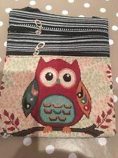Little Owl Embroidered Shoulder Festival Boho Bag. Brand New Hippie Chic
