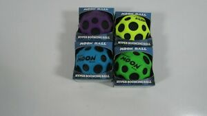 4 ASSORTED WABOBA MOON BALL HYPER EXTREME BOUNCING BALL TO THE MOON OUTDOOR GAME