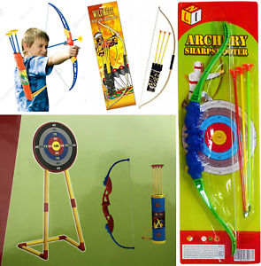 Kids Children Toy Archery Bow and full Set boys and girls shoot with infrared fu