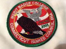Boy Cub Scout 2005 Connecticut Yankee Council Merit Badge College