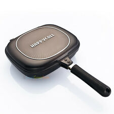 Happy call Double sided pan pressure Jumbo grill frying pan diamond Happycall