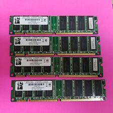 LOT OF 4 VIKING 256MB PC133 DESKTOP SDRAM - VR8AU326438DTEW1