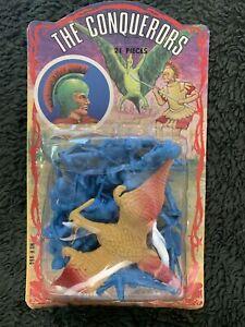 Vintage Famus The Conquerors Plastic Fantasy Figure He-Man D&D Toys
