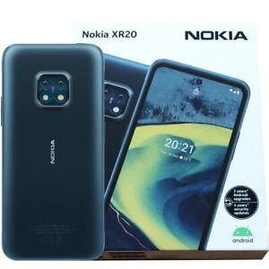 Nokia XR20 5G (Ultra Blue) 64GB + 4GB RAM Android Smartphone - GSM Unlocked