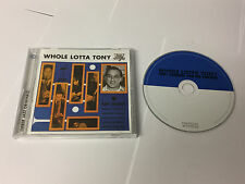 Tony Crombie & His Friends : Whole Lotta Tony CD (2011) MINT/EX-
