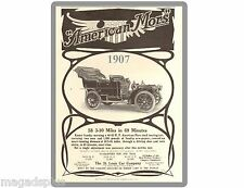1907 AMERICAN MORS TOURING CAR   Refrigerator / Tool Box  Magnet