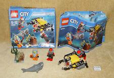 LEGO Sets: Town: City: Deep Sea Explorers: 60091-1 Deep Sea Starter Set (2015)