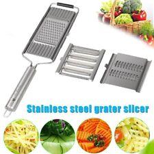 Multi-purpose Vegetable Slicer Stainless Steel Grater Cutter Shredders Fruit