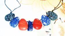 Lapis Lazuli-Schönheits-Echtschmuck-Halsketten