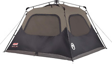 Coleman 6-Person Cabin Tent WEATHERPROOF with Instant Setup for Camping Outdoor